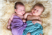 Drugan Newborn Twins